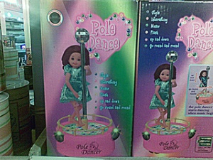 doll pole dancer