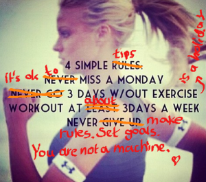 mod fitspo 4 simple rules