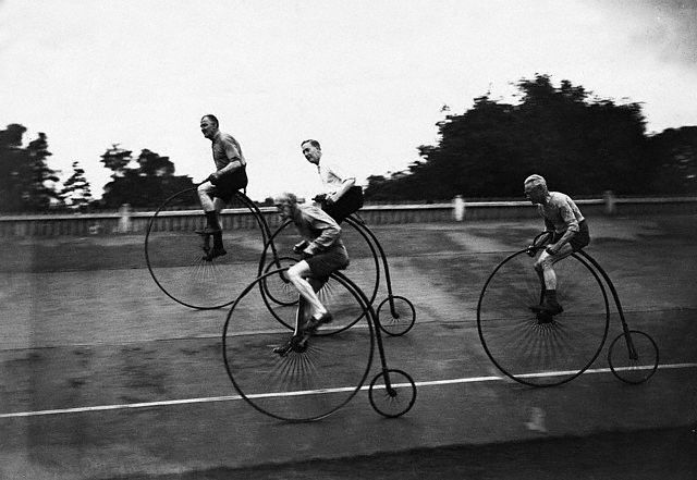 Veteran Cyclists in Training