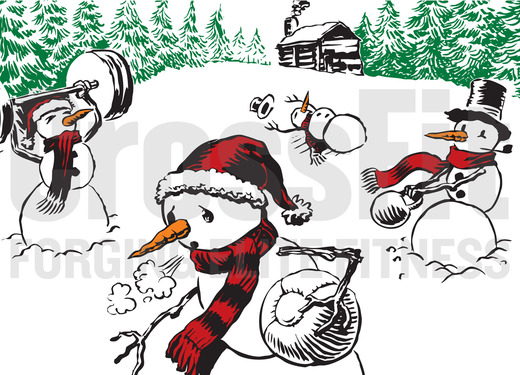 Image: CrossFit Christmas card