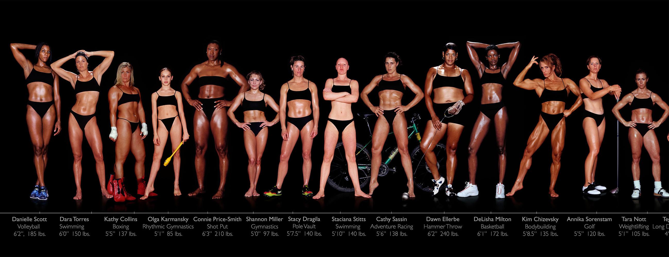 Women Athletes Body Type