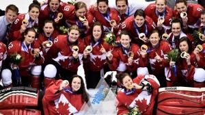 canadian women's hockey team