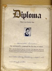 my diploma!