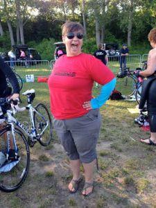 Natalie, world's best transition volunteer!