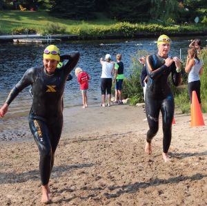 bracebridge swim finish