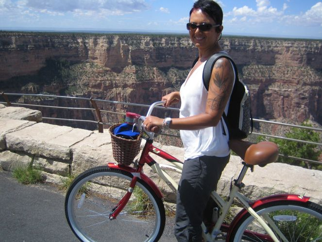 Best way to commute on the South Rim of the Grand Canyon: bicycle!