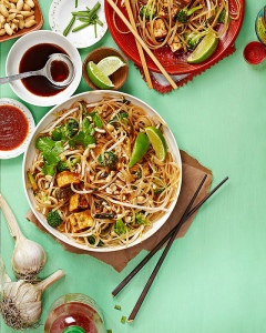 Everyday Pad Thai. Photo credit: Vanessa Reese.  http://www.theppk.com/2013/09/everyday-pad-thai/