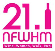 niagara falls women's half marathon 21.1 logo