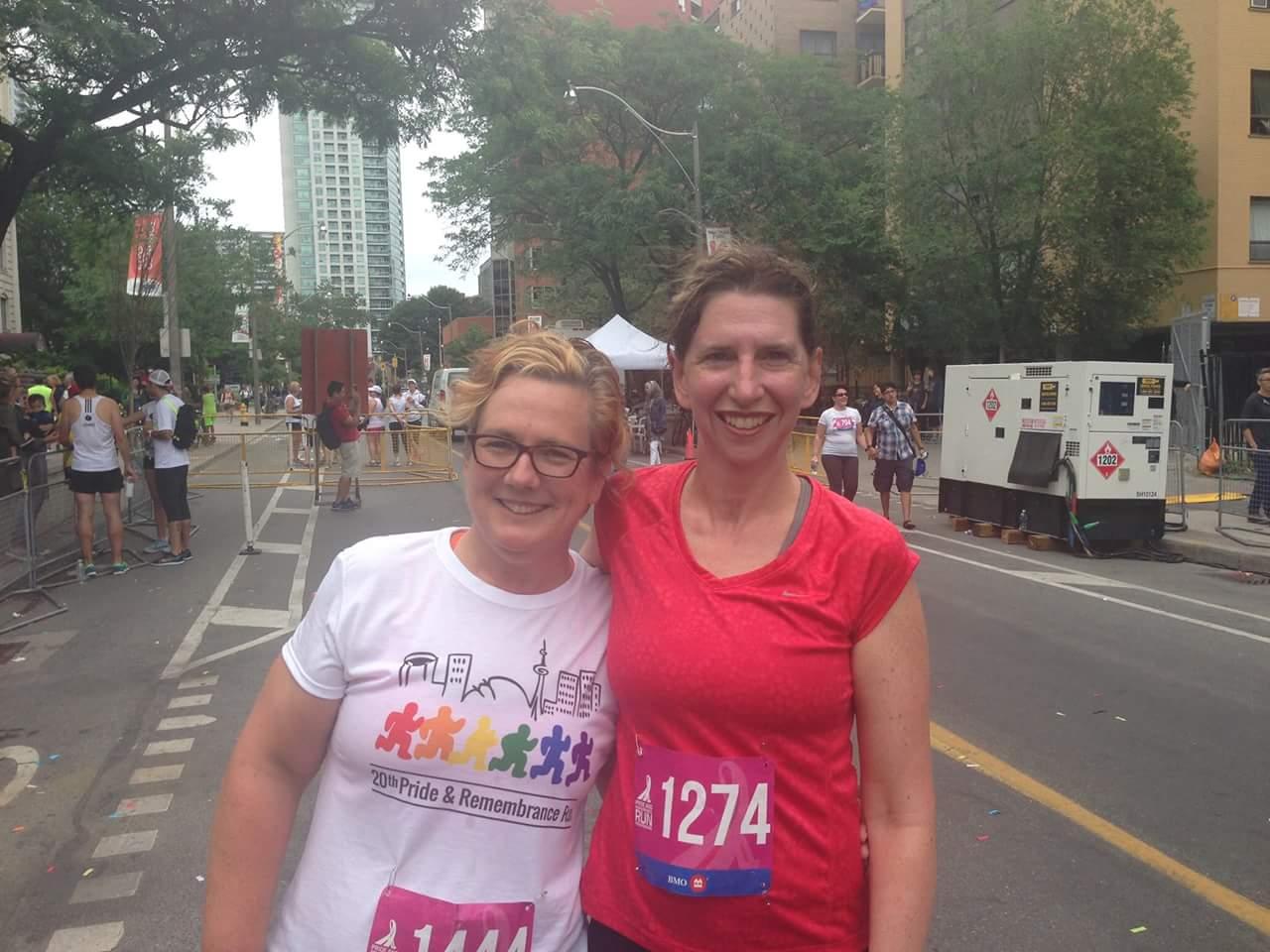 Susan and me!
