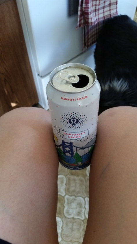 Finally, a way that beer can get me a thigh gap