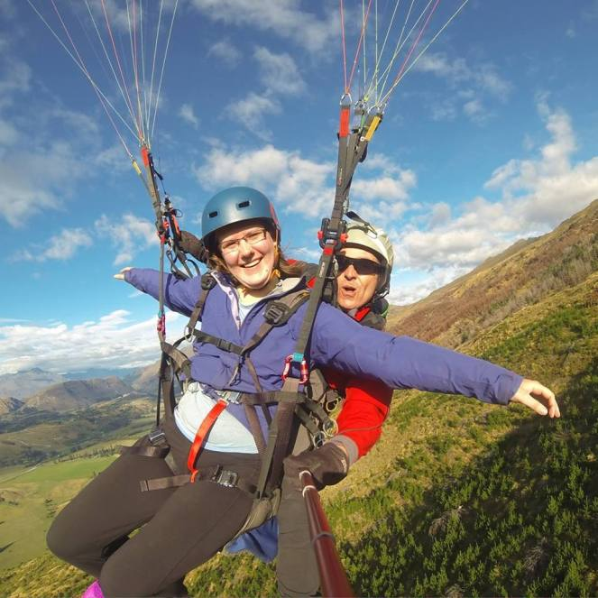 Paragliding in NZ