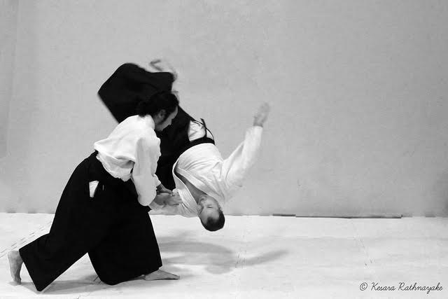 Aikido by Kesara Rathnayake. Licensed under CC-by-sa 2.0
