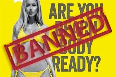 beach body ad banned