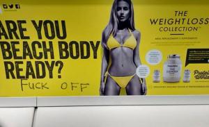 Beach_body_fuckoff poster