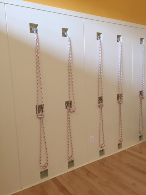 Asanas on the ropes trying out kurunta yoga fit is a for How to make a rope wall