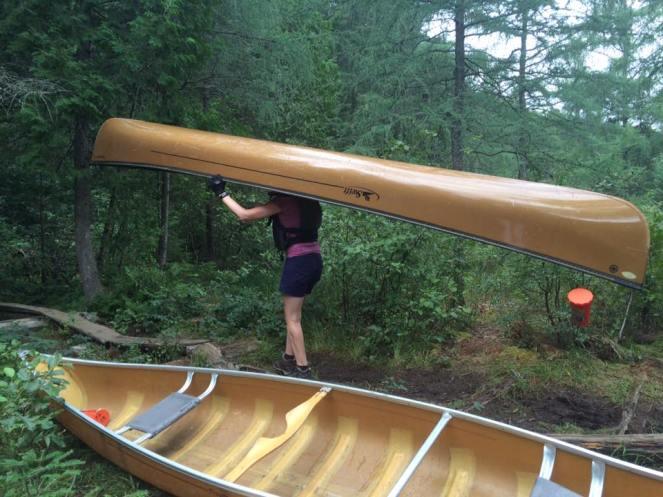 canoe head me