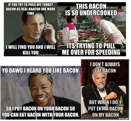 blog 1 image 2?w=663 scorn and fetishization of food gender norms, bacon (mmm bacon
