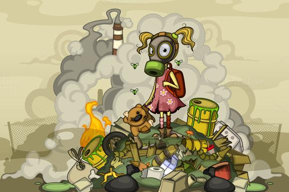 garbage-pile-girl
