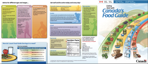 Page two of the Canada Food Guide