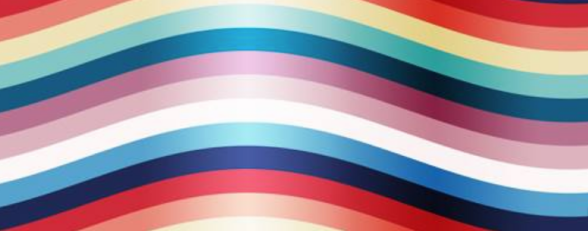 rainbow colors-- the Fit is a Feminist Issue FB page cover