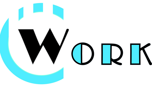 """graphic of the word """"work"""""""