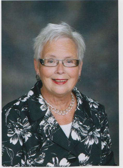 Kathleen, Sam's mum. at Wesley Knox United Church, guessing 2013?