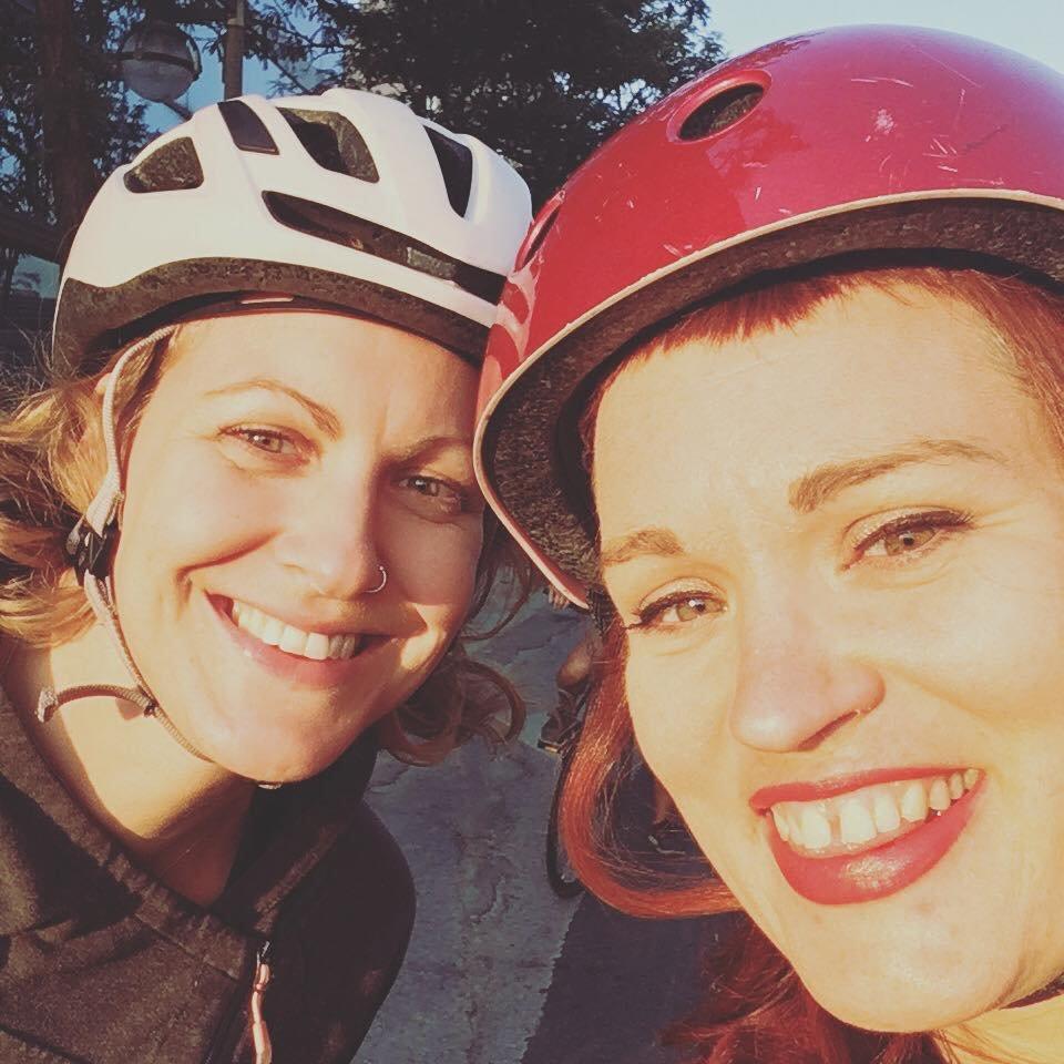 Biking with a friend