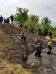 conquering the mud hill