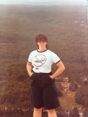 Me on top of a mountain in Georgia.