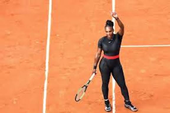 serena williams' catsuit at the french open