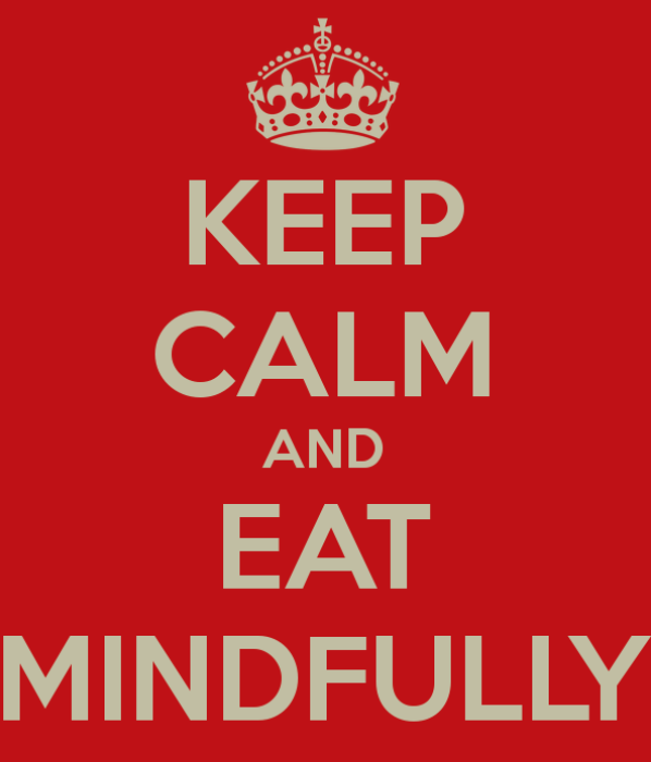 Keep calm and eat mindfully