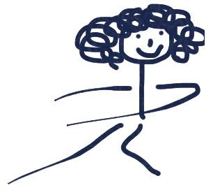Nia girl drawing
