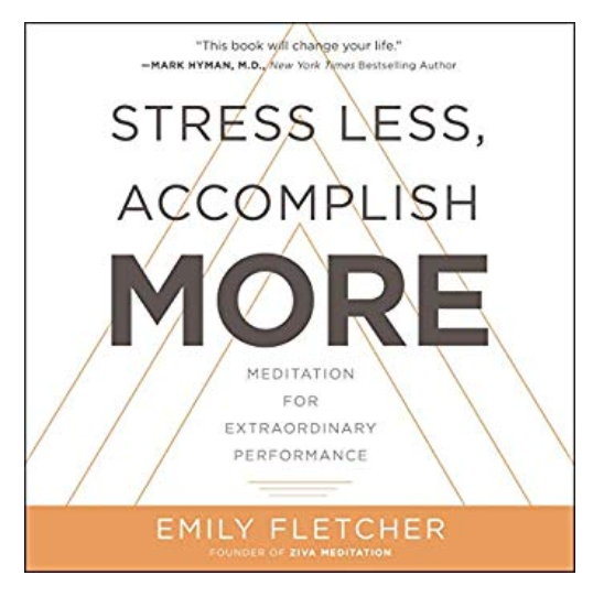 Stress less, do more. Ugh. no. The title is already stressing me.