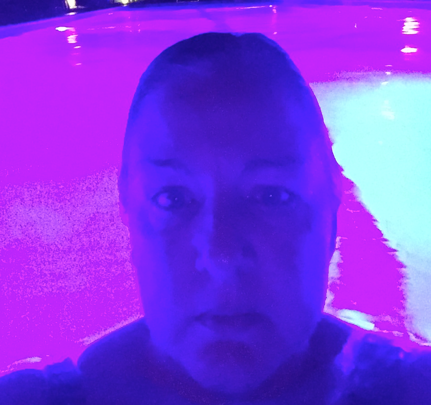 Me and my pool aura.