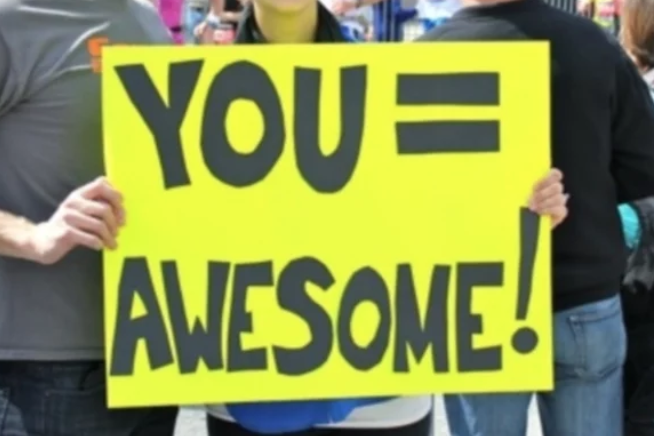 You = awesome!