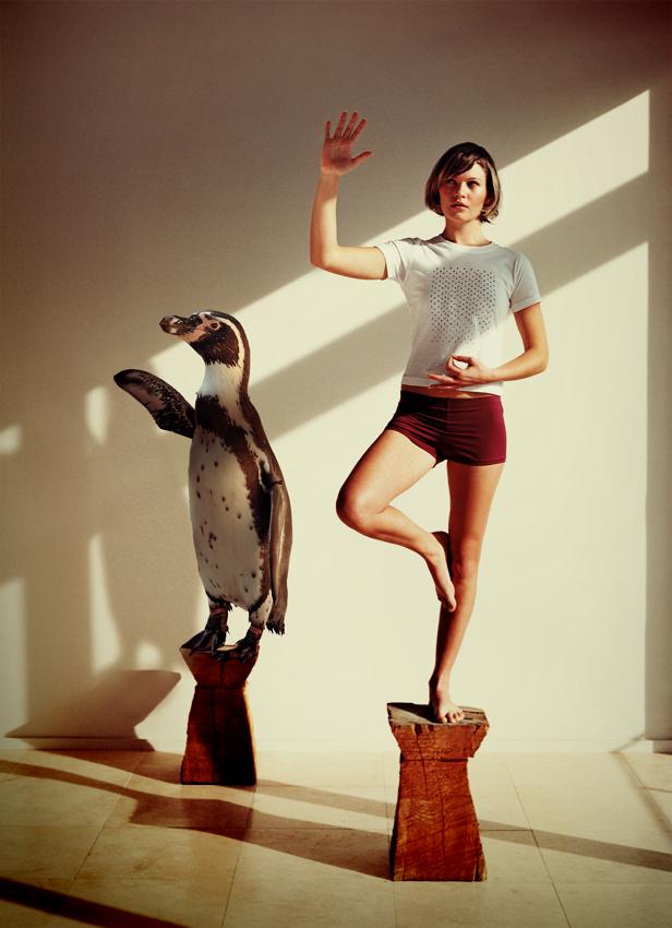 Penguin Yoga, on Deviant Art, http://natdatnl.deviantart.com/art/penguin-yoga-287479396