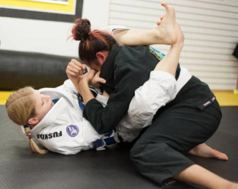 Brazilian jiu jitsu, or BJJ!
