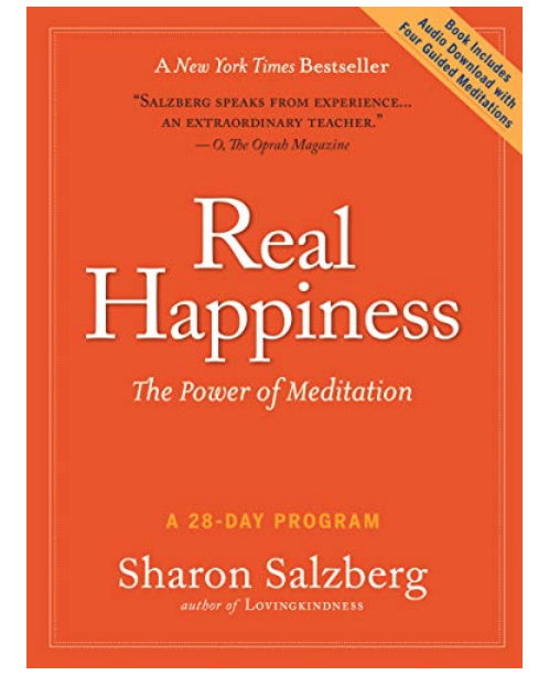 Sharon Salzberg Meditation book.