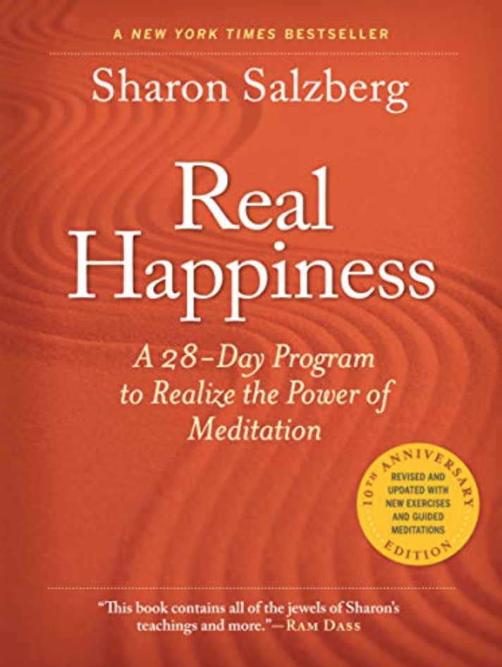 Starting Aug 18: FIFI book club reads Real Happiness, by Sharon Saltzberg