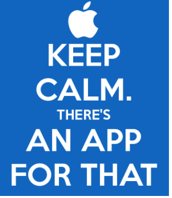Keep calm. There's an app for that.