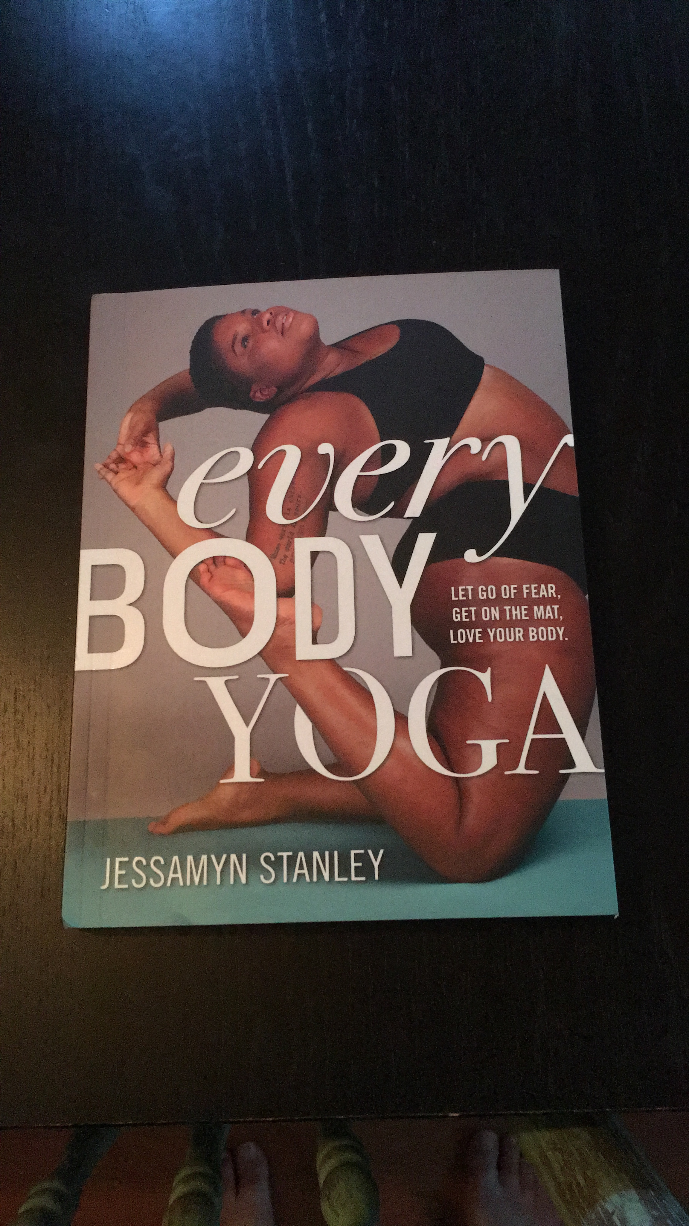 "Nat reads ""Every Body Yoga"" by Jessamyn Stanley"