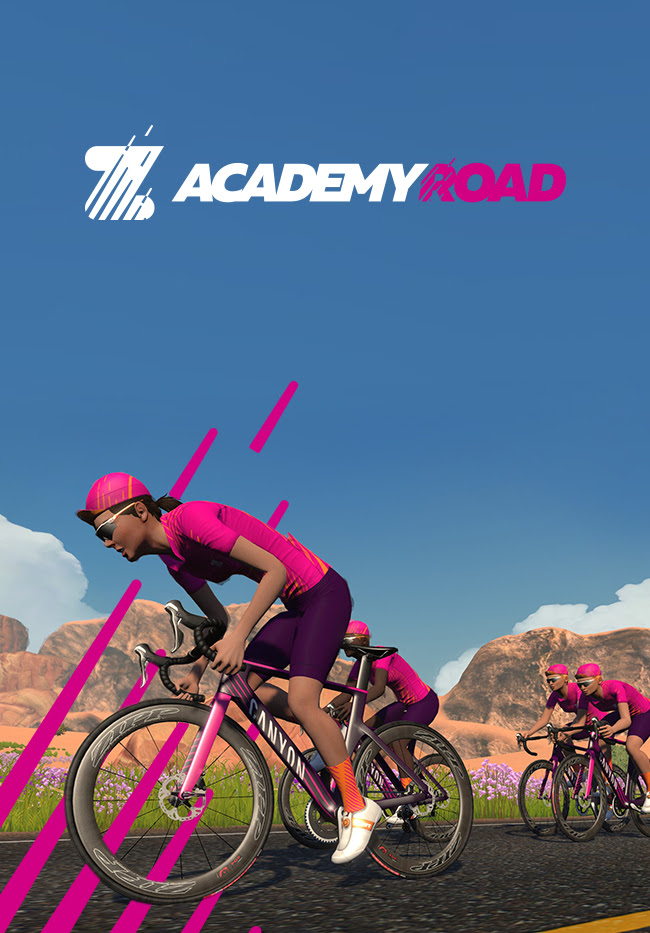 OMG. Sam did it. Sam completed Zwift Academy 2020.