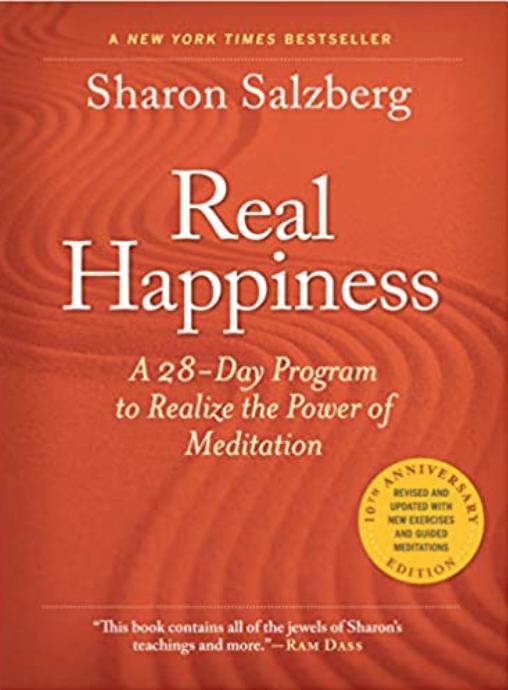 Image of Sharon Salzberg's book Real Happiness