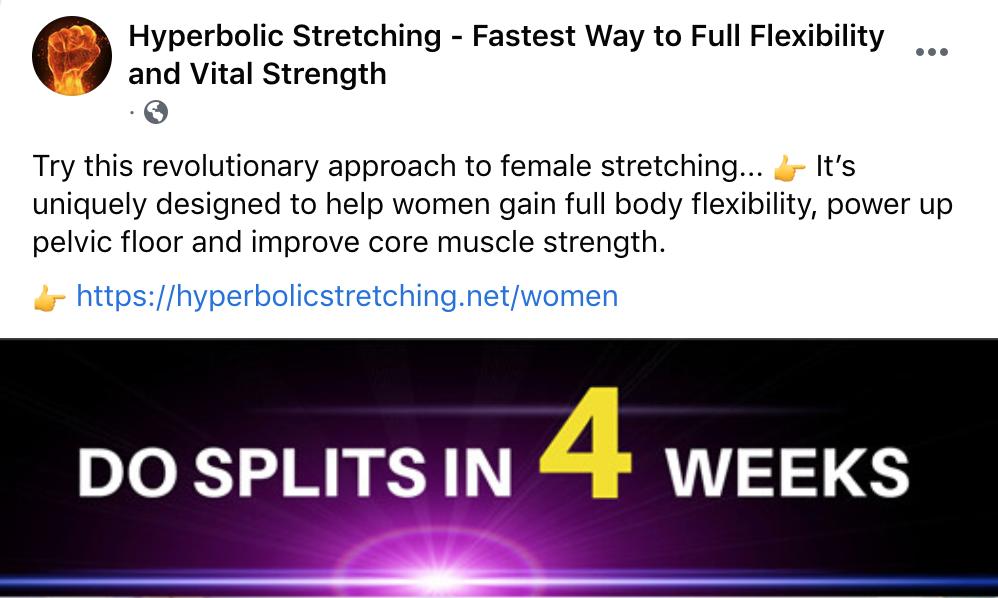 "Ads mentioning ""hyperbolic"" and ""revolutionary"" and ""pelvic floor"" raise my suspicions."