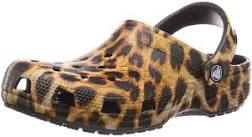 Femme Crocs! Or, can a person wear too much leopard print?