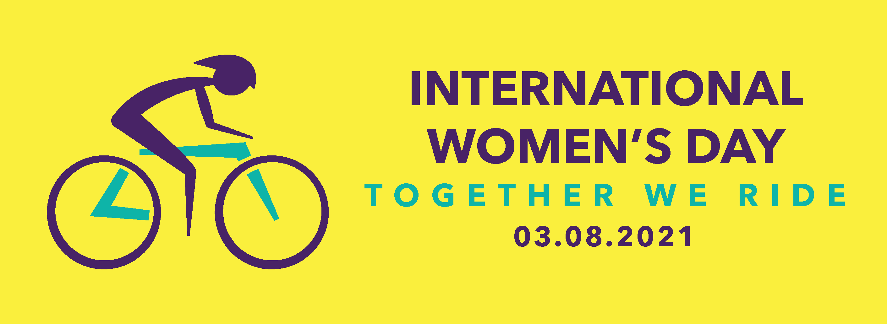 INTERNATIONAL WOMEN'S DAY TOGETHER WE RIDE 2021:  A bike ride for equality, inclusion and change (reblog)