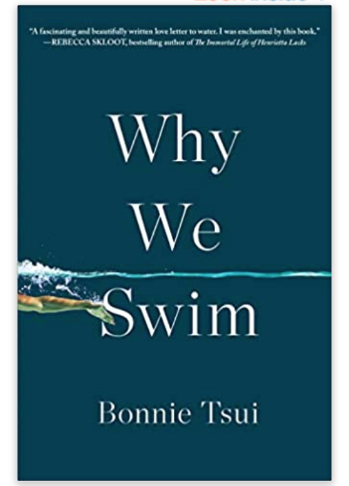The book Why We Swim, y Bonnie Tsui.