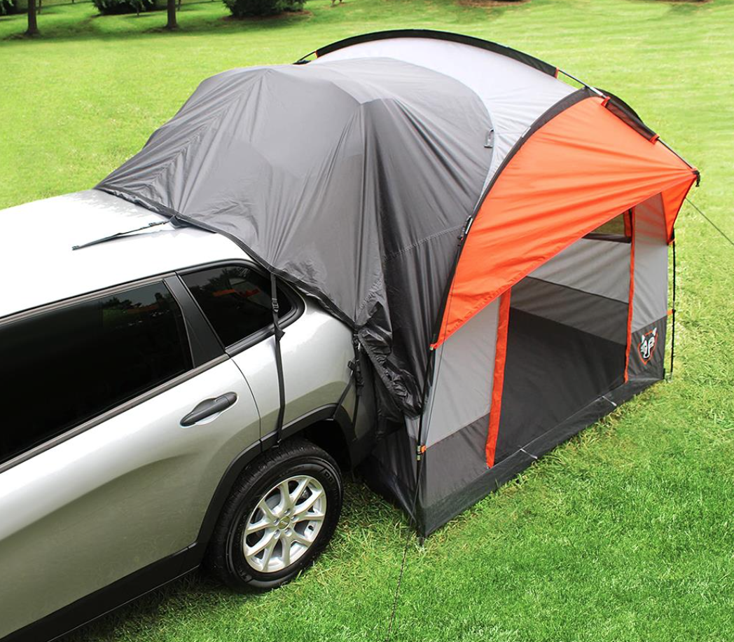 It would be double-cool to get one of these tents to change from work clothes to play clothes. Thinking on it...